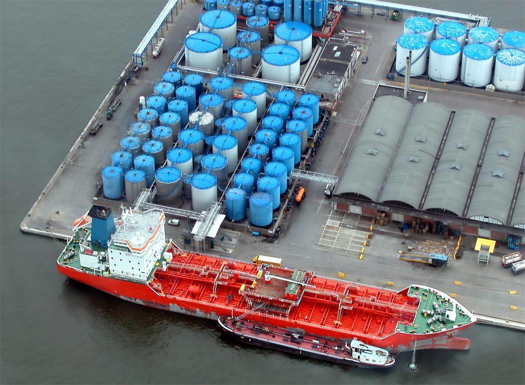 Biodiesel storage in Rotterdam